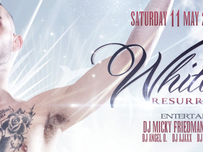 WHITE PARTY Ticket Pre-Sale started!
