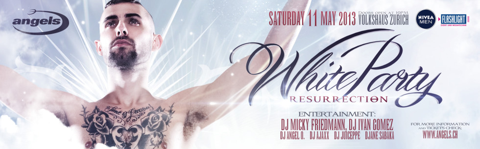 Buy Tickets for WHITE PARTY Online!