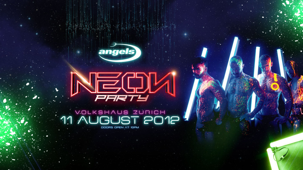 NEON PARTY – angels latest creation!