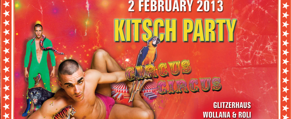 Hurry for your Early Bird Ticket! The online ticket sale for KITSCH PARTY :: CIRCUS CIRCUS is online now. And if you hurry now, you might be lucky to grab one of the Early Bird Tickets for CHF 31. (limited time only). Buy ticket online… Pre-sale in Zurich starts on […]