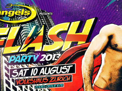 Pre-sale for FLASH PARTY started!