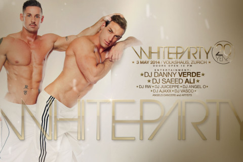 WHITE PARTY :: 20 YEARS ANNIVERSARY :: 3 MAY 2014