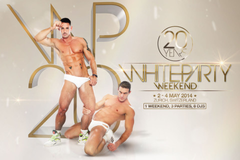 20 YEARS WHITE PARTY WEEKEND :: 2-4 MAY 2014