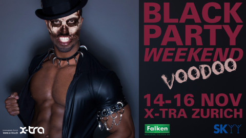 BLACK PARTY WEEKEND :: 14-16 NOV 2014 :: X-TRA