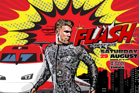 FLASH PARTY // 29 AUGUST 2015