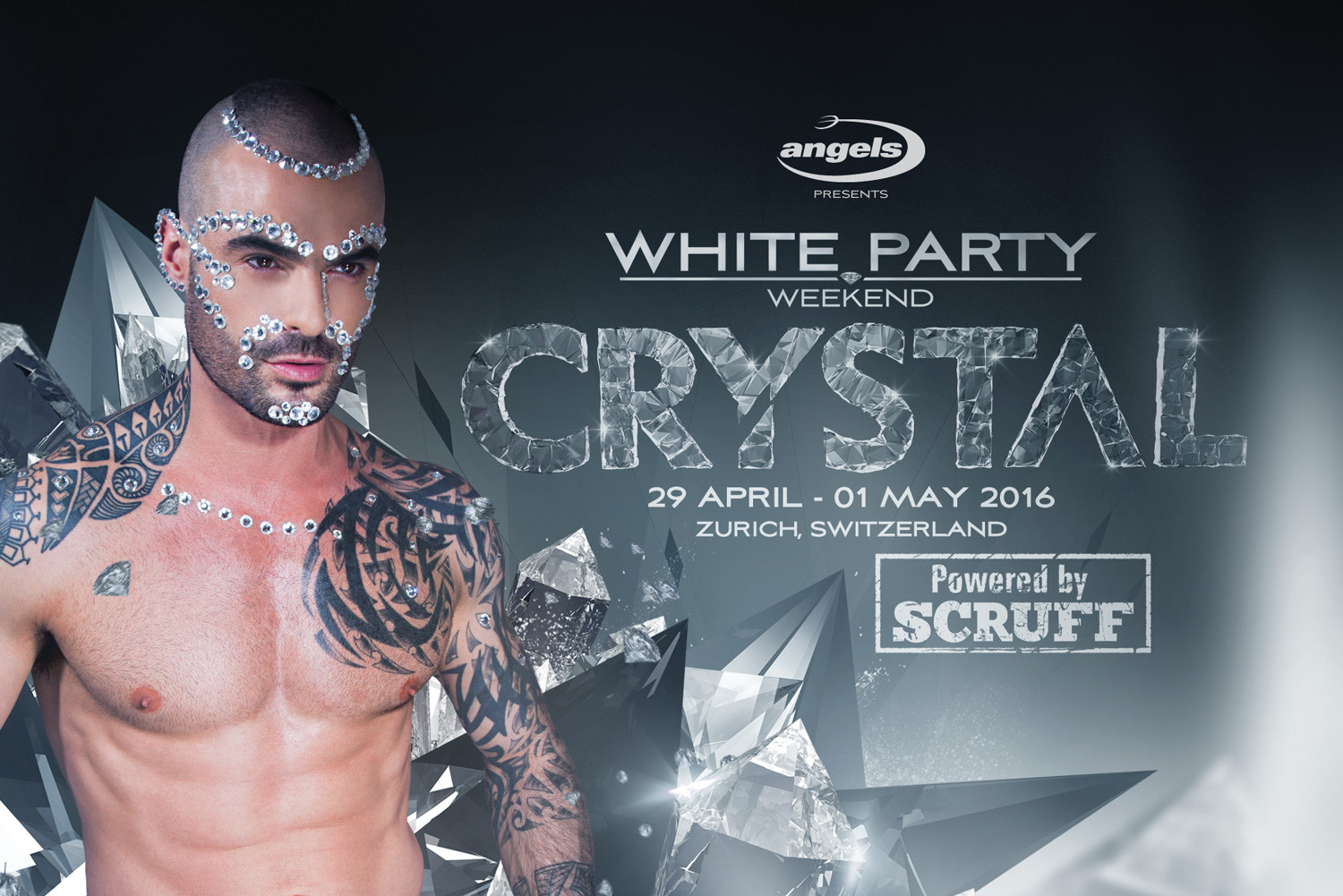 WHITE PARTY WEEKEND CRYSTAL 2016