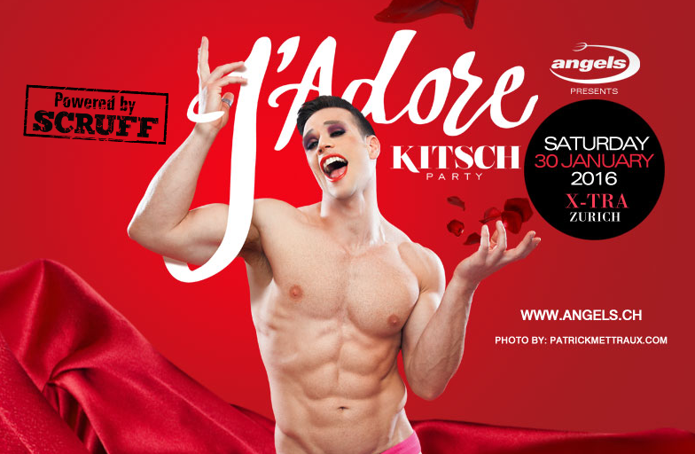 KITSCH PARTY 2016 // J'adore // powered by Scruff