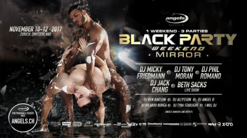 BLACK PARTY WEEKEND 2017