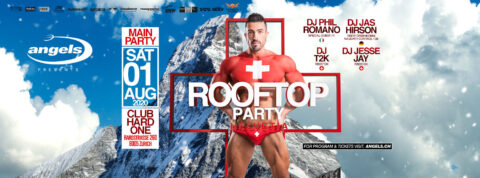 ANGELS ROOFTOP PARTY :: HELVETIA :: 1 AUGUST 2020
